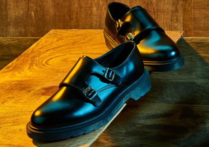 2019 COLLECTION DBL MONK STRAP & VANE